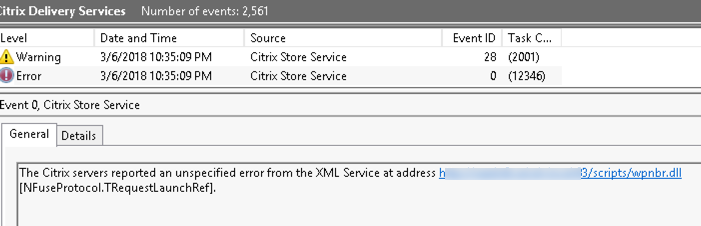 Issue: Multi-Forest Application Launch: XML Unspecified